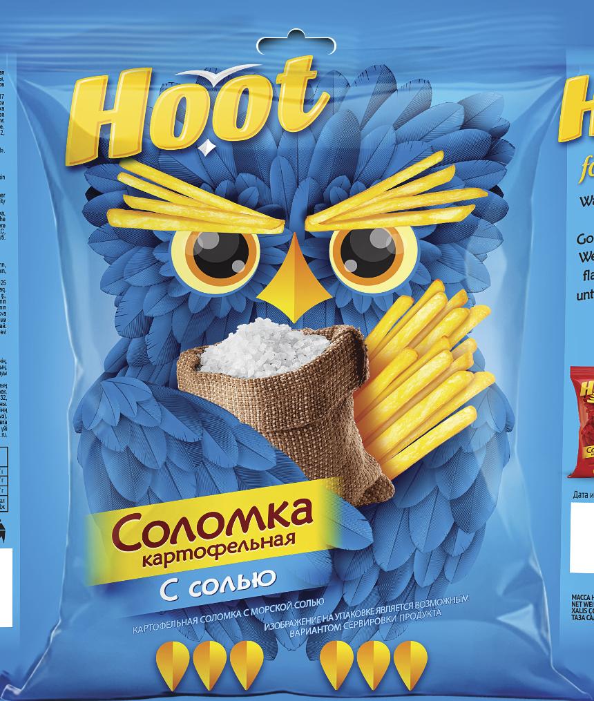 Соломка HOOT Соль 50 г.