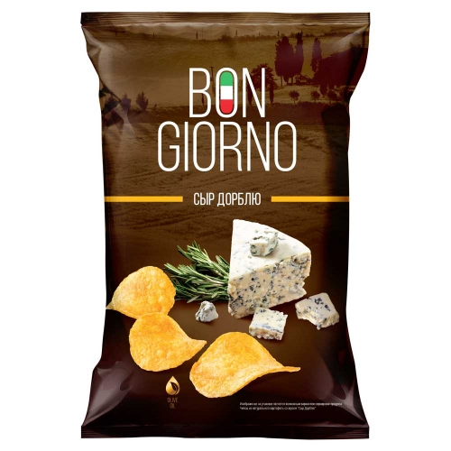 Bon Giorno со вкусом Сыр Дорблю, 90гр