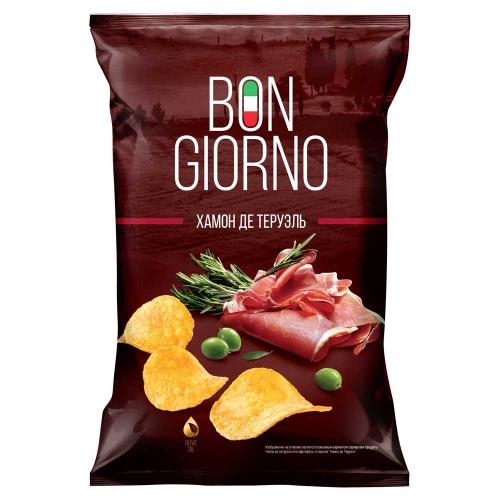 Bon Giorno со вкусом Хамон де Теруель, 90гр